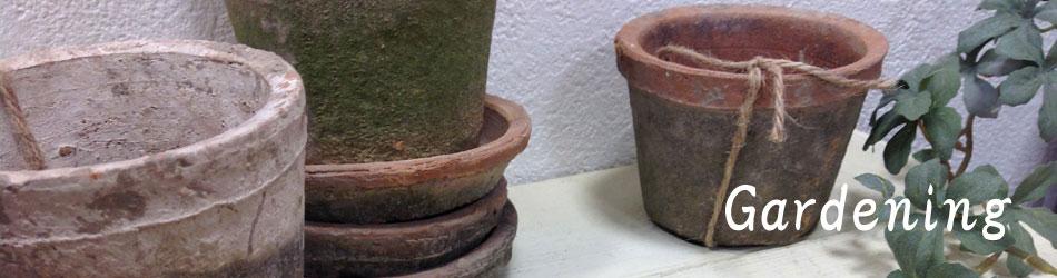 ガーデニング雑貨 モスポット 植木鉢